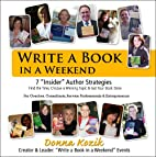 Write a Book in a Weekend: 7…