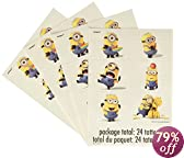 Despicable Me 2 Tattoo Sheets, 4-Piece
