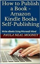 How to Publish a Book - Amazon Kindle Books…