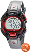 Timex Men's T5K7559J Ironman Traditional 30-Lap Black and Red Resin Strap Watch