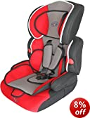 Bebe Style Deluxe Group 1/2/3 Combination Car Seat (Red)