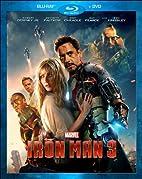 Iron Man 3 (Blu-ray DVD) by Shane Black