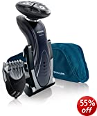 Philips Shaver Series 7000, Wet and Dry Shaver with Stubble Styler RQ1195/17