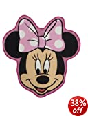 Character World Disney Minnie Mouse Makeover Shaped Rug, Multi-Color