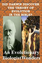 Did Darwin Find the Theory of Evolution in…