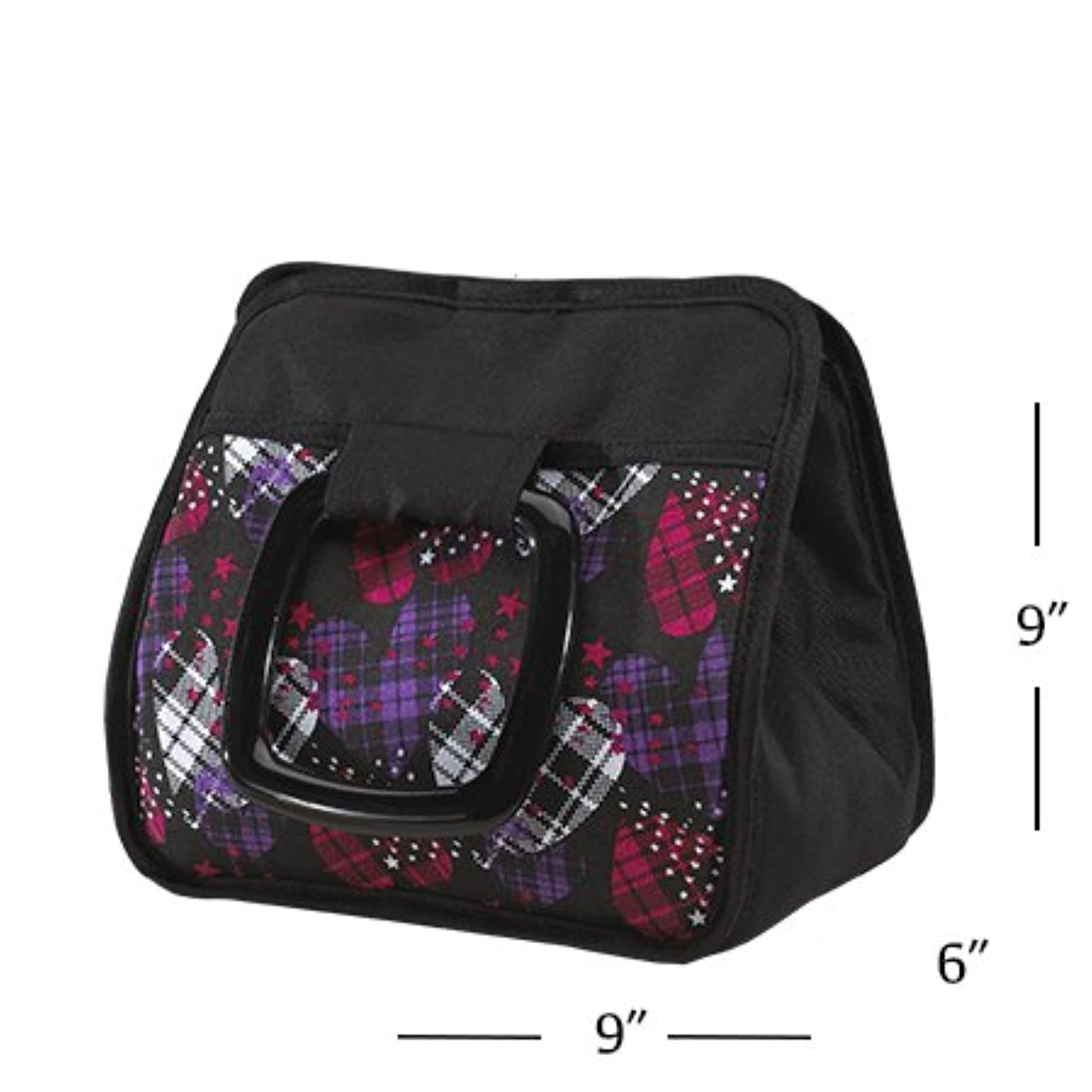 Fit Fresh Bella Kids' Insulated Lunch Bag Girls Thermal Lunch Box Tote
