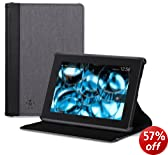 """Belkin Chambray Case for Kindle Fire HD 7"""" Blacktop (will only fit All-New Kindle Fire HD 7"""")"""