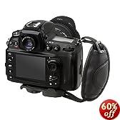 BIRUGEAR Black Digital Camera SLR Hand Strap Hand Grip Holder for Canon EOS Rebel SL1, T6i, T5, T5i, T4i, 7D Mark II, 70D, 6D, 60Da, 5D Mark III, Nikon COOLPIX L830 L820 L810 P900 P600 P530 P520 P510 DSLR Camera