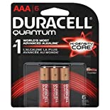 Duracell, Coppertop, Hearing Aid and Quantum Batteries, $6.49