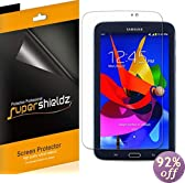 SUPERSHIELDZ- High Definition (HD) Clear Screen Protector for Samsung Galaxy Tab 3 7.0 7 inch + Lifetime Replacements Warranty - [3-PACK] Retail Packaging