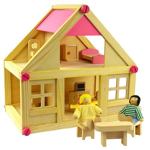 木头搭建房子设计图