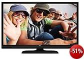 TCL L32E3005/G 81 cm (32 Zoll) LED-Backlight-Fernseher, EEK A+ (HD-ready, 100Hz CMI, DVB-C/-S2/-T, 2x HDMI, CI+, Hotelmodus, USB 2.0) schwarz