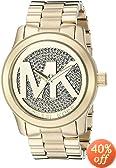 Michael Kors Women's 'Runway' Logo Dial Bracelet Watch - MK5706