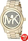 Michael Kors Women's 'Runway' Logo Dial Bracelet Watch - MK5706