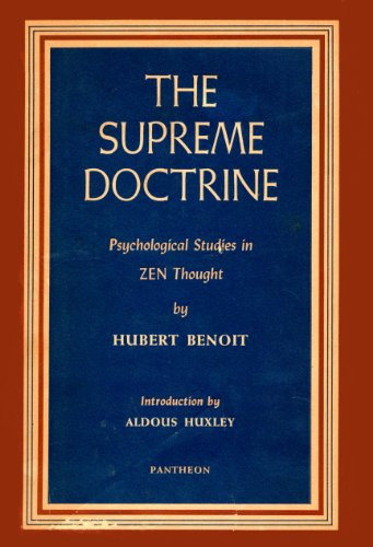 the-supreme-doctrine-psychological-studies-in-zen-thought
