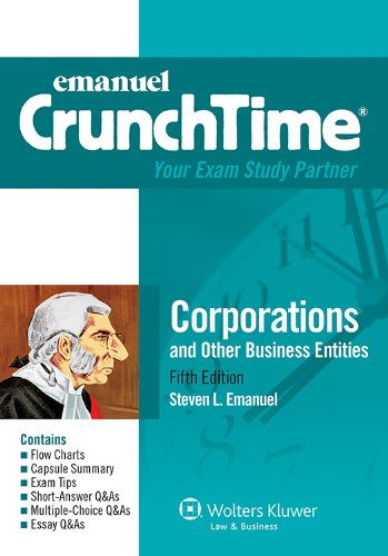 emanuel-crunchtime-for-corporations-and-other-business-entities-emanuel-crunchtime-series