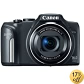Canon PowerShot SX170 IS 16.0 MP Digital Camera, Black (discontinued by manufacturer)