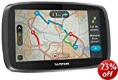 """TomTom GO 5000 EU - 5"""" Sat Nav with Full European Lifetime Maps, Lifetime Traffic Updates, Always Connected and Interactive Screen"""