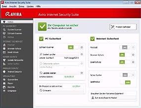 Avira Internet Security Suite 2014 - 1 User  , Abbildung #01