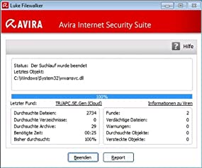Avira Internet Security Suite 2014 - 1 User  , Abbildung #03