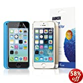Anker® Matte Screen Protector for iPhone 5S / iPhone 5C / iPhone 5 [3-Pack] Highly-Transparent Anti-Glare Anti-Fingerprint with Lifetime Warranty
