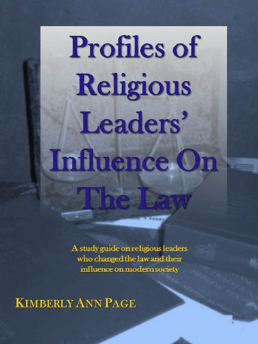profiles-of-religious-leaders-influence-on-the-law