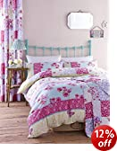 Catherine Lansfield Gypsy Patchwork King Size Quilt Set - Multi