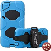 iPod Touch 5 case, ULAK® Extreme Heavy Duty Shock-Proof Sport Outdoor Case Cover Belt Clip for Apple iPod Touch 5 5th (Blue)