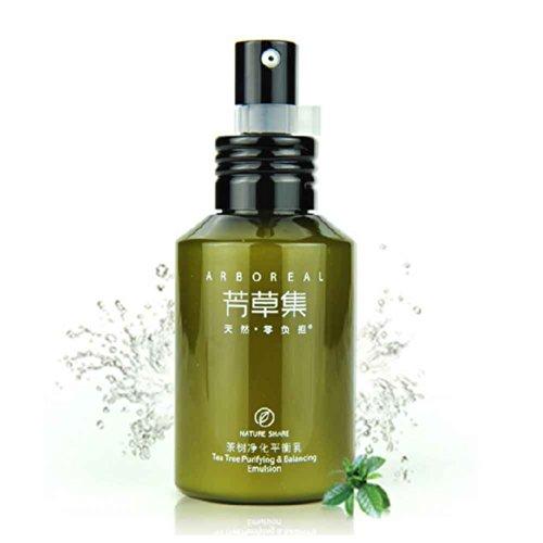 茶树精油及柳树皮提取物,在维持肌肤水油平衡的同时减轻痘痘产生