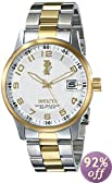 """Invicta Men's 15260 """"I-Force"""" 18k Gold Ion Plating and Stainless Steel Watch"""