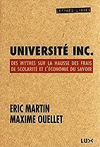 Université Inc. Des mythes sur la hausse…