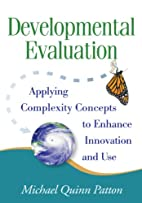 Developmental Evaluation by Michael Quinn…