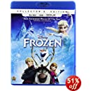 Frozen Bluray