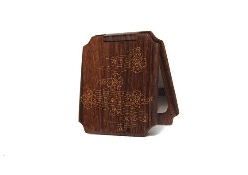 谭木匠 sp礼盒漆艺镜-似水年华 镜子 木镜 创意礼物 送女生