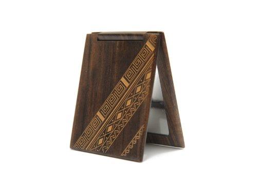 谭木匠 sp礼盒漆艺镜-绮罗香 镜子 木镜 创意礼品 送女生