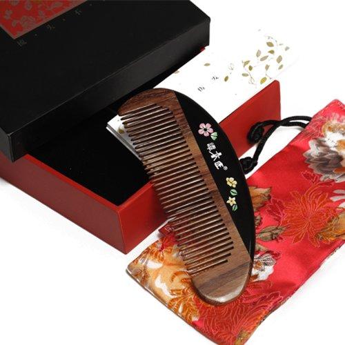 谭木匠 礼盒漆艺梳-繁花