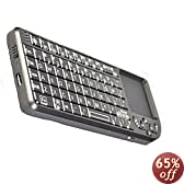 iClever® 3-in-1 Cross-platform Ultra-Slim Mini Bluetooth 3.0 Wireless Keyboard for Apple iPad Air/ iPad Mini with Retina display/ iPad mini/ iPad mini 2/ iPad 4,3,/Galaxy Tab/ Galaxy Tab2/ Galaxy Tab 3/Galaxy Note 3/ Samsung S4 S3/ Google Nexus 4,7,10/ Microsoft Surface RT/ Surface 2 and other Talbets--White[Compatilble with iOS Android Windows systems]