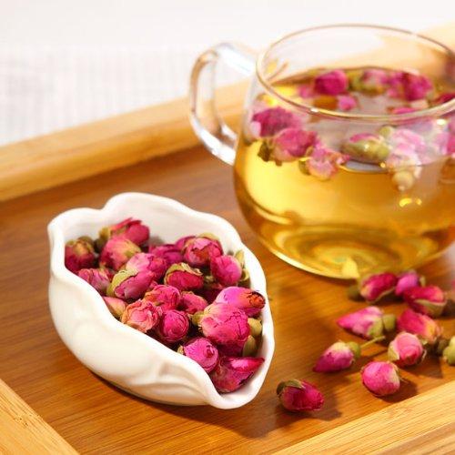 鼠小二 玫瑰花茶 花茶 养生茶【15元仅售2天】 进口法兰西玫瑰玫瑰花