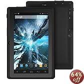 """ProntoTec 7"""" Android 4.4 Tablet PC, Cortex A8 1.2 GHz Quad Core Processor, Dual Camera, G-Sensor (Black)"""