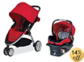Britax 2014 B-Agile and B-Safe Travel System, Red