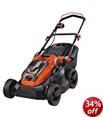 Black & Decker CLM3820L2-GB 36V 2.0Ah Lawn Mower with 2 Batteries