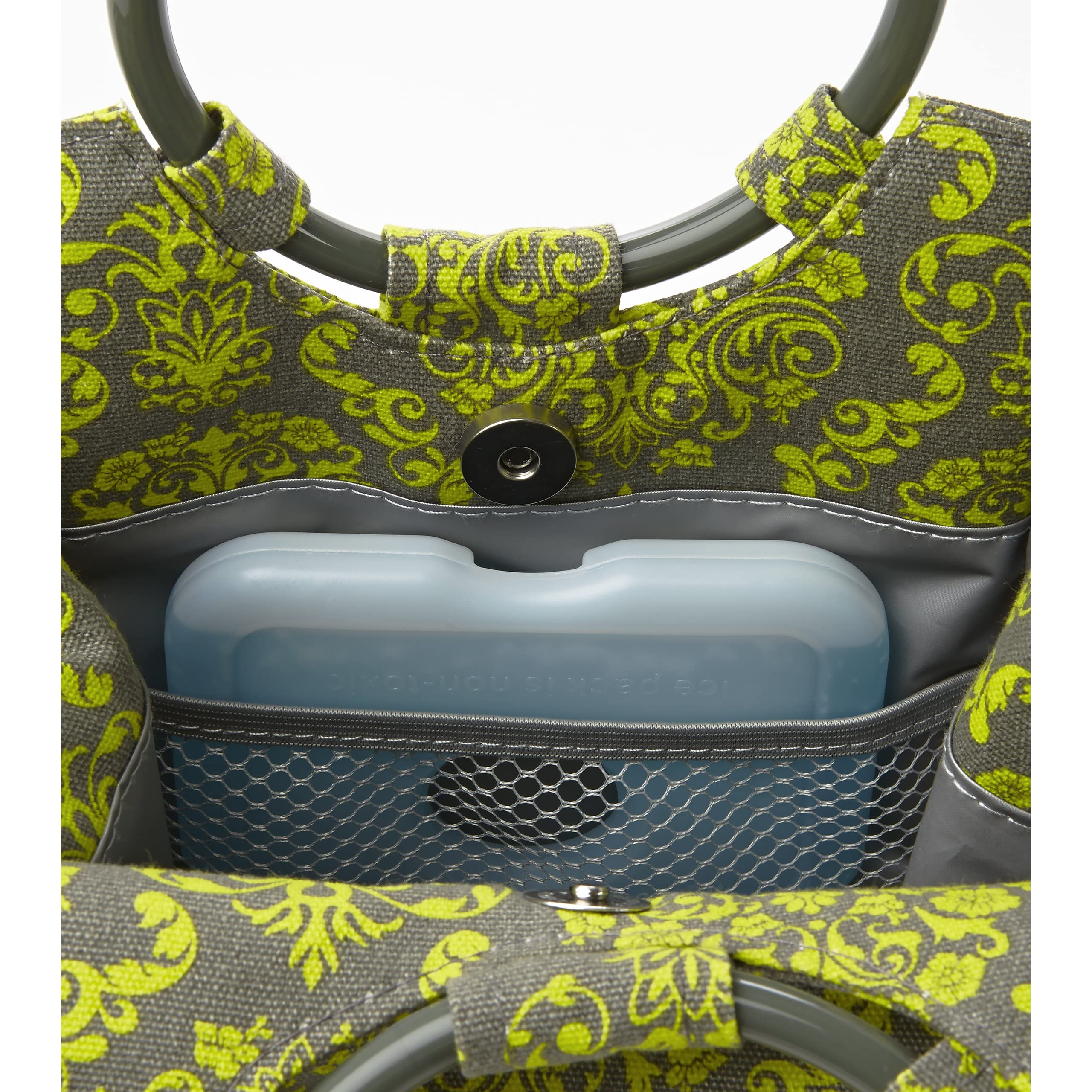 Fit Amp Fresh Ladies Retro Insulated Lunch Bag Womens