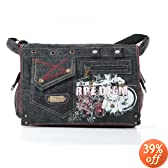 Seed of Solace Nocturnal Checkpoint Friendly Laptop Messenger Bag