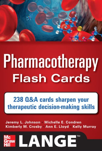 pharmacotherapy-flash-cards