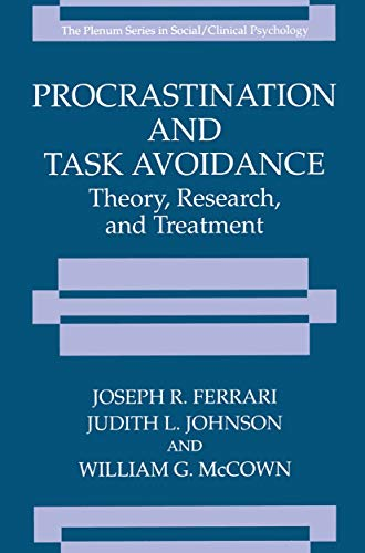 procrastination-and-task-avoidance-theory-research-and-treatment-the-springer-series-in-social-clinical-psychology