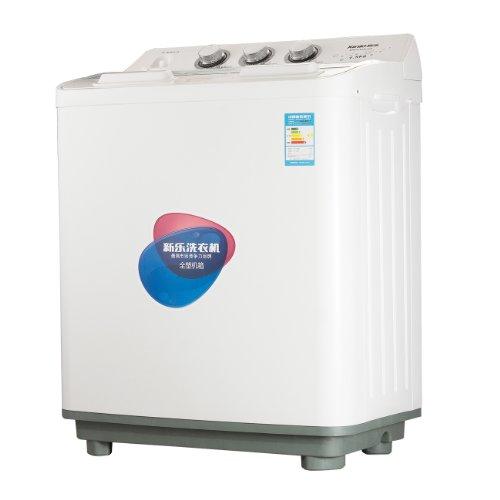 5公斤大容量半自动双缸洗衣机 带甩干 双桶洗衣机
