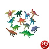 Pack of 12 Dinosaur Model Figures