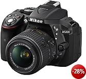 Nikon D5300 Appareil photo num�rique Reflex 24.2 Kit Objectif AF-S DX VR II 18-55 mm Noir