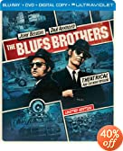 The Blues Brothers (Steelbook) (Blu-ray + DVD + DIGITAL with UltraViolet)