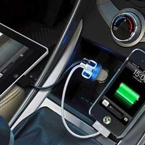 先科车载手机充电器